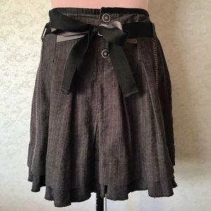 Tommy Hilfiger Denim Black Skater Skirt